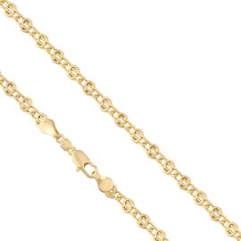Łańcuszek pozłacany - 50cm LAP671