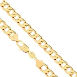 Łańcuszek pozłacany - 60cm LAP676