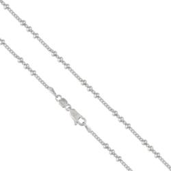 Łańcuszek rodowany - 45cm LAP679