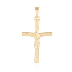 Medalik pozłacany - 3,5cm - PRZ1017