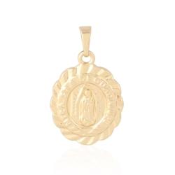 Medalik pozłacany - 2,7cm - PRZ1019