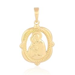 Medalik pozłacany - 3,3cm - PRZ1022
