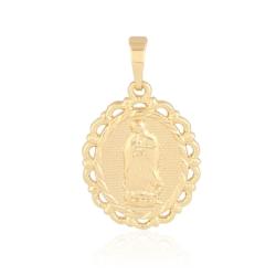 Medalik pozłacany - NMP - 3cm - PRZ1023