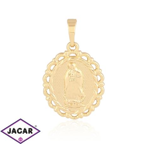 Medalik pozłacany - 3cm - PRZ1023