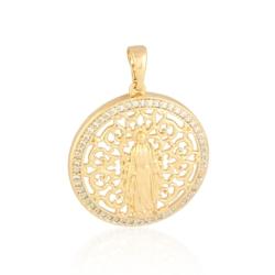 Medalik pozłacany - 3cm - PRZ1025