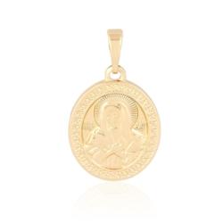 Medalik pozłacany - NMP - 2,8cm - PRZ1029