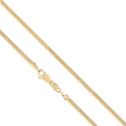 Łańcuszek pozłacany - 60cm LAP691