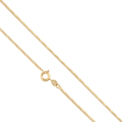 Łańcuszek pozłacany - 45cm LAP692