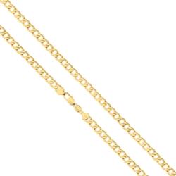 Łańcuszek pozłacany - dł: 45cm LAP705