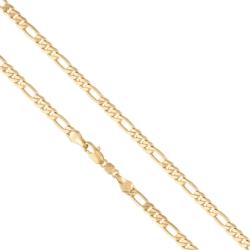 Łańcuszek pozłacany - dł: 35cm LAP714