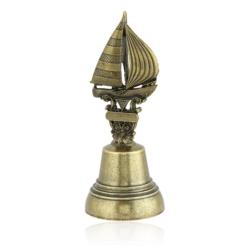 Figurka żaglówka na dzwonku- 7cm FR169