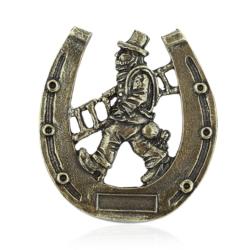 Magnes metalowy - Kominiarz podkowa 2szt/op - MM63
