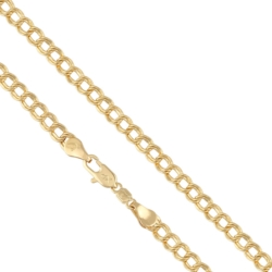 Łańcuszek pozłacany - dł: 50cm LAP727