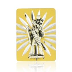 Figurka metalowa - Św. Krzysztof - FR125