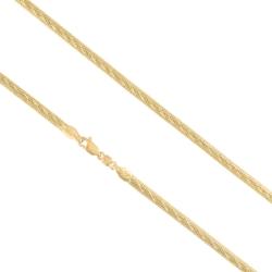 Łańcuszek pozłacany - dł: 50cm LAP745