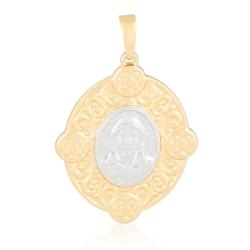 Medalik pozłacany - Jezus - 4,5cm - PRZ1081