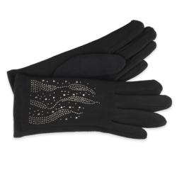 Eleganckie rękawiczki damskie - 23cm - RK411