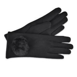 Eleganckie rękawiczki damskie - 23cm - RK412