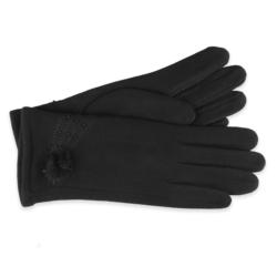 Eleganckie rękawiczki damskie - 23cm - RK413