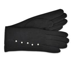 Eleganckie rękawiczki damskie - 23cm - RK415