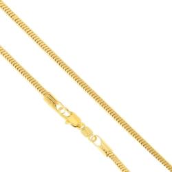 Łańcuszek pozłacany - dł: 50cm LAP761