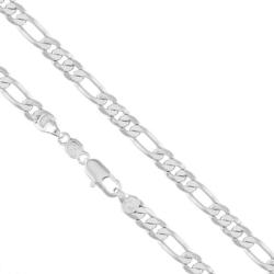 Łańcuszek rodowany - dł: 60cm LAP765