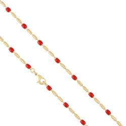 Łańcuszek pozłacany - dł: 45cm LAP767