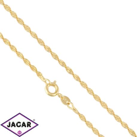 Łańcuszek pozłacany - LAP803