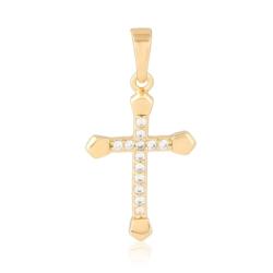 Krzyżyk pozłacany - 2,7cm - PRZ1155