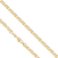 Łańcuszek pozłacany - Tamiza - LAP815