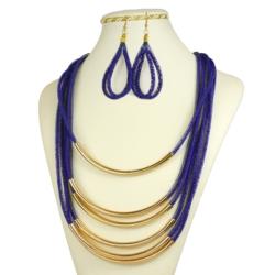Komplet biżuterii sztucznej - KOM11