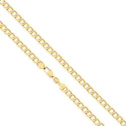 Łańcuszek pozłacany - Ren - LAP837