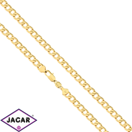 Łańcuszek pozłacany - Mozela - LAP839