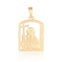 Medalik pozłacany - 2,8cm - PRZ1158