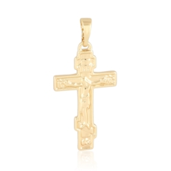 Krzyżyk pozłacany - 3,3cm - PRZ1173