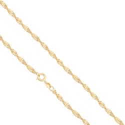 Łańcuszek pozłacany - LAP858