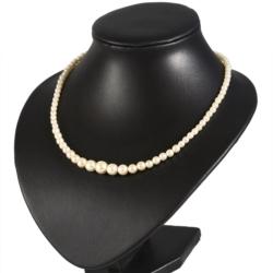 Naszyjnik perła - Stopniowany - 45cm - PER338