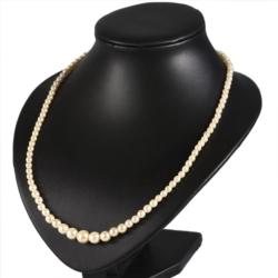 Naszyjnik perła - Stopniowany - 55cm - PER340