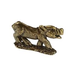 Figurka metalowa - 2019 rok Świni 3,5x1,9cm BM145