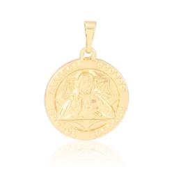 Medalik pozłacany - Światłość - 2,6cm - PRZ1185