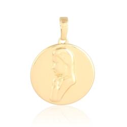 Medalik pozłacany - Matka Boska - 3cm - PRZ1187