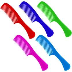 Grzebień do włosów - mix kolorów - 22cm - SZC56