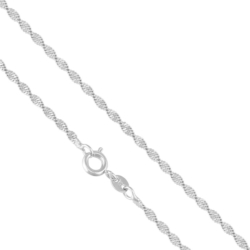 Łańcuszek rodowany - LAP871