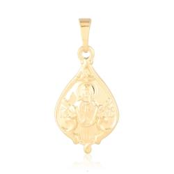 Medalik pozłacany - Jezus - 2,8cm - PRZ1213