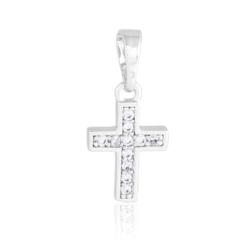 Krzyżyk rodowany - 2cm - PRZ1222