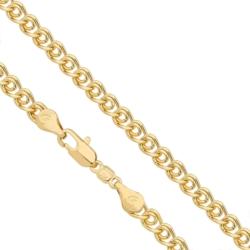 Łańcuszek pozłacany Xuping - Umbellata - LAP893