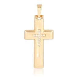 Krzyżyk pozłacany - 3,2cm - PRZ1245