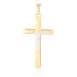 Krzyżyk pozłacany - 4,1cm - PRZ1256