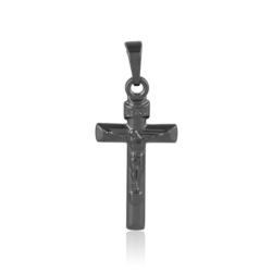 Krzyżyk czarny - 3cm - PRZ1262
