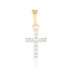 Krzyżyk pozłacany - 2cm - PRZ1267